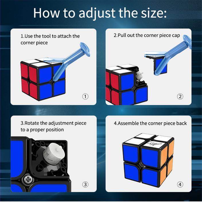 Moyustore Guoguan Xinghen Tsm 2x2 Speed Cube With 3 Sizes Adjustment 2 704x704 Ae0f059e Ee23 41d6 8c9b 0fcd64ba78c1 1024x1024