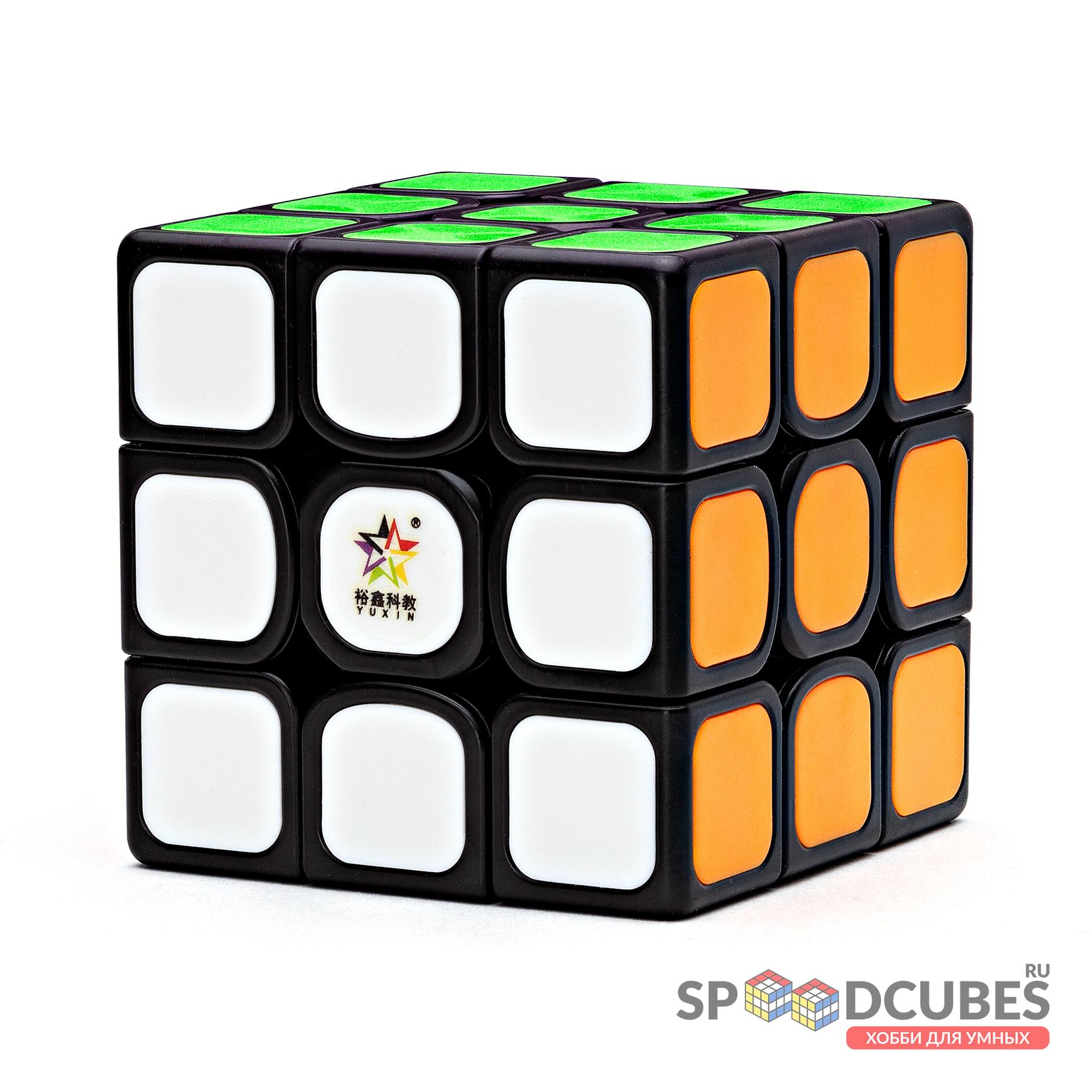 YuXin 3x3x3 Black Kylin V2 (tiled)