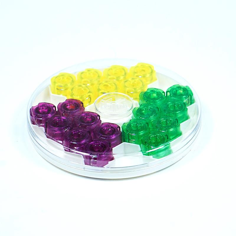 Gan GES V4 гайки для кубиков Gan (Purple, Yellow, Green)