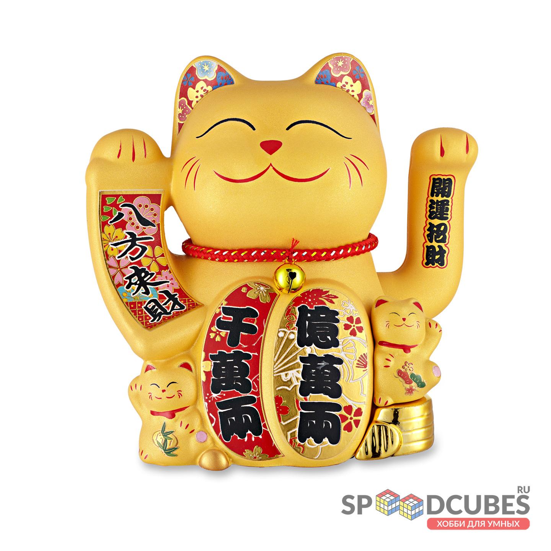 Кот-талисман Манэки-Нэко